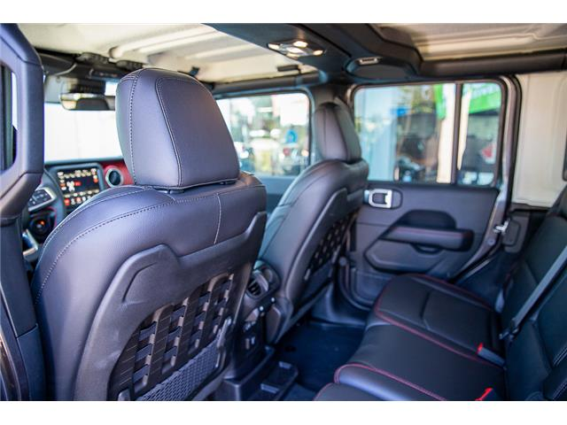 2019 Jeep Wrangler Unlimited Rubicon (Stk: K589520) in Surrey - Image 13 of 28