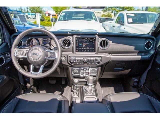 2019 Jeep Wrangler Unlimited Sahara (Stk: K647517) in Surrey - Image 14 of 27