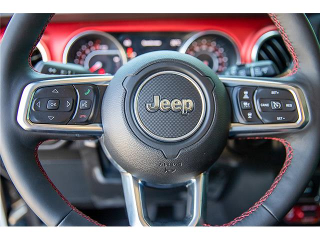 2019 Jeep Wrangler Unlimited Rubicon (Stk: K589520) in Surrey - Image 20 of 28
