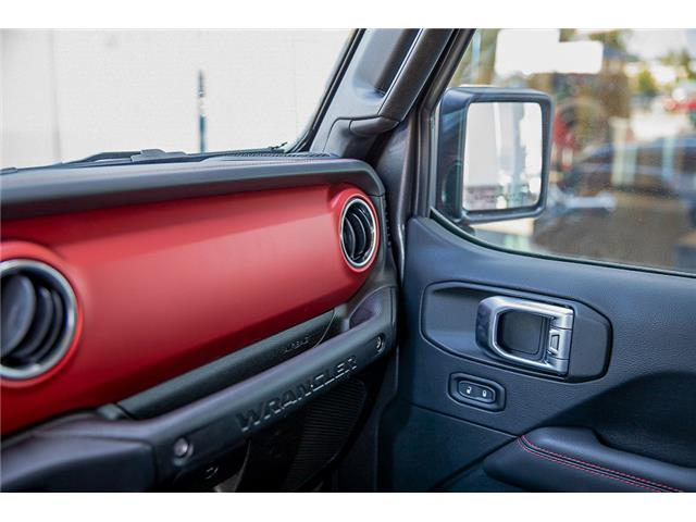 2019 Jeep Wrangler Unlimited Rubicon (Stk: K589520) in Surrey - Image 27 of 28