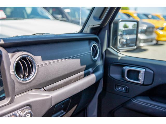 2019 Jeep Wrangler Unlimited Sahara (Stk: K647517) in Surrey - Image 26 of 27