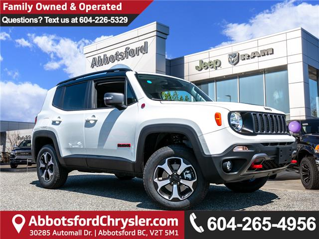 2019 Jeep Renegade Trailhawk (Stk: KK50124) in Abbotsford - Image 1 of 23