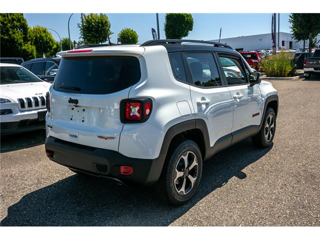 2019 Jeep Renegade Trailhawk (Stk: KK50124) in Abbotsford - Image 7 of 23
