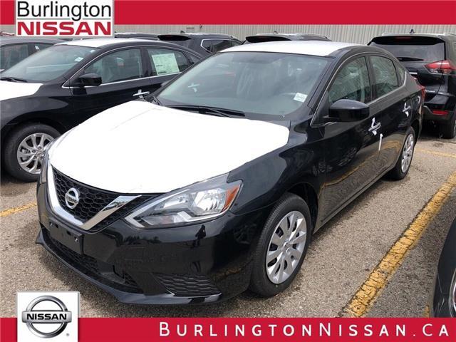 2019 Nissan Sentra 1.8 SV (Stk: Y6027) in Burlington - Image 1 of 5