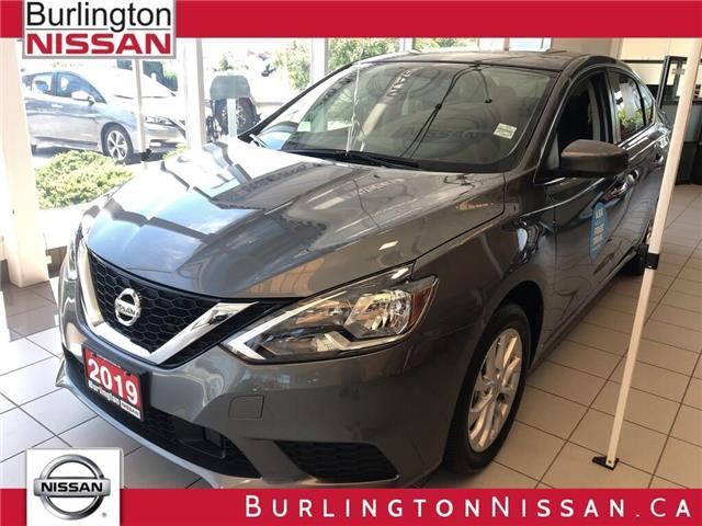 2019 Nissan Sentra 1.8 SV (Stk: Y6021) in Burlington - Image 1 of 5