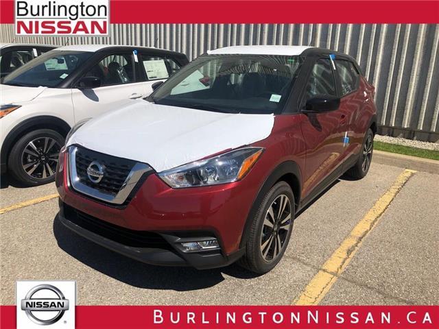 2019 Nissan Kicks SV (Stk: Y1196) in Burlington - Image 1 of 5