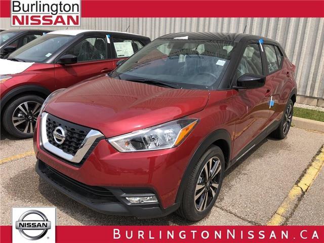 2019 Nissan Kicks SV (Stk: Y1198) in Burlington - Image 1 of 5