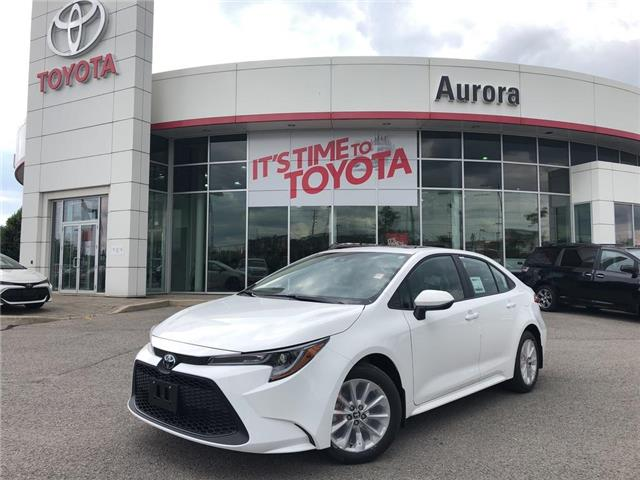 2020 Toyota Corolla LE (Stk: 31109) in Aurora - Image 1 of 15