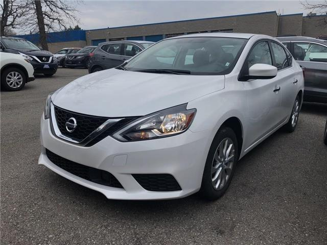 2019 Nissan Sentra SV/MOONROOF | CPO | NO ACCIDENT (Stk: P0625) in Mississauga - Image 1 of 20