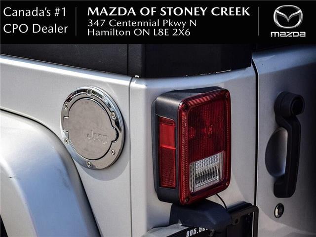 2009 Jeep Wrangler Unlimited Sahara (Stk: SU1157A) in Hamilton - Image 7 of 19