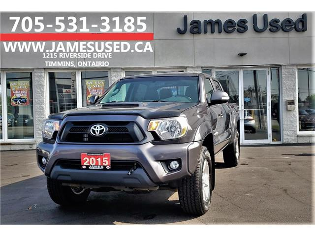 2015 Toyota Tacoma V6 (Stk: N19360A) in Timmins - Image 1 of 13