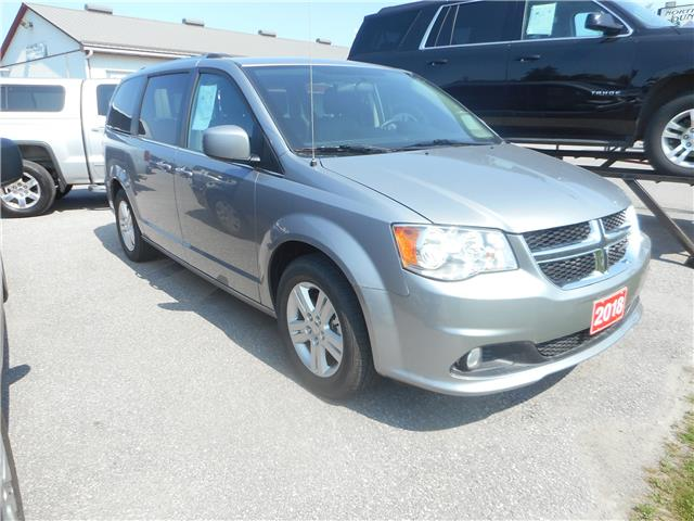 2018 Dodge Grand Caravan Crew (Stk: NC 3689) in Cameron - Image 2 of 10