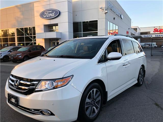 2017 Honda Odyssey Touring (Stk: OP19255) in Vancouver - Image 1 of 22