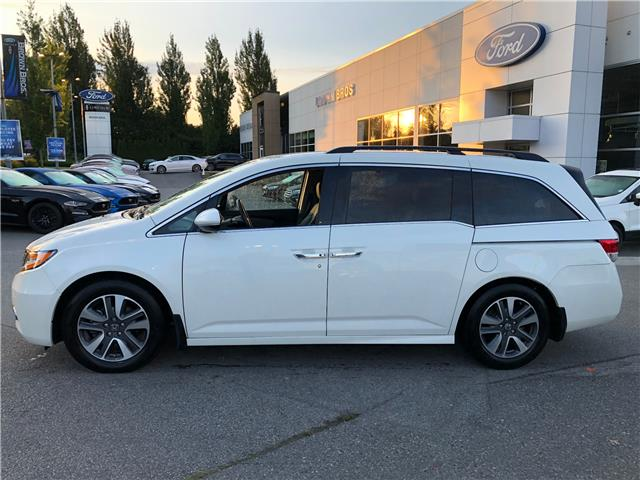 2017 Honda Odyssey Touring (Stk: OP19255) in Vancouver - Image 2 of 22