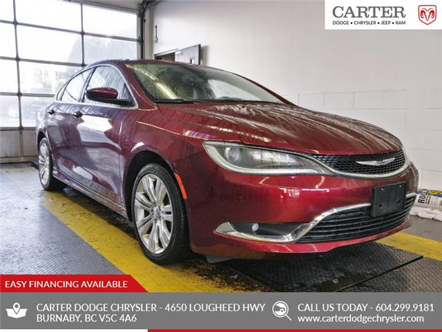2015 Chrysler 200 Limited (Stk: K051061) in Burnaby - Image 1 of 24