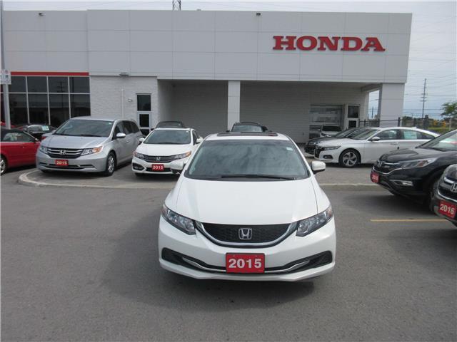 2015 Honda Civic EX (Stk: 27060L) in Ottawa - Image 2 of 12
