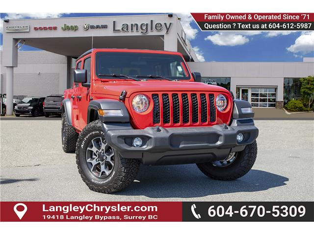 2020 Jeep Gladiator Sport S (Stk: L114208) in Surrey - Image 1 of 28