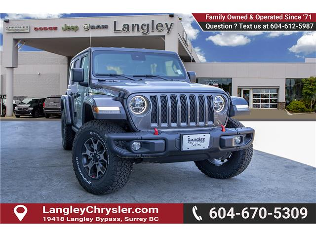 2019 Jeep Wrangler Unlimited Rubicon (Stk: K589520) in Surrey - Image 1 of 28