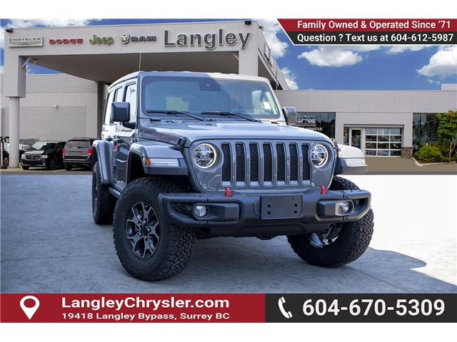 2019 Jeep Wrangler Unlimited Rubicon (Stk: K594965) in Surrey - Image 1 of 29