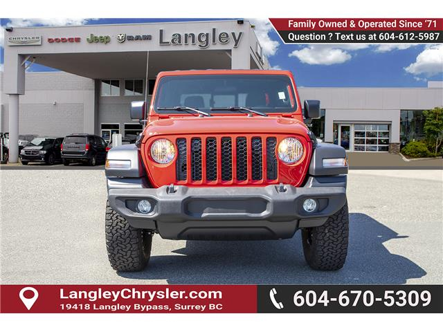 2020 Jeep Gladiator Sport S (Stk: L114208) in Surrey - Image 2 of 28