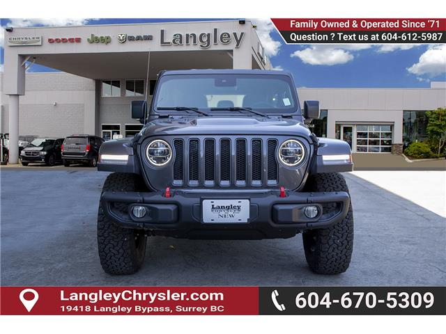 2019 Jeep Wrangler Unlimited Rubicon (Stk: K589520) in Surrey - Image 2 of 28