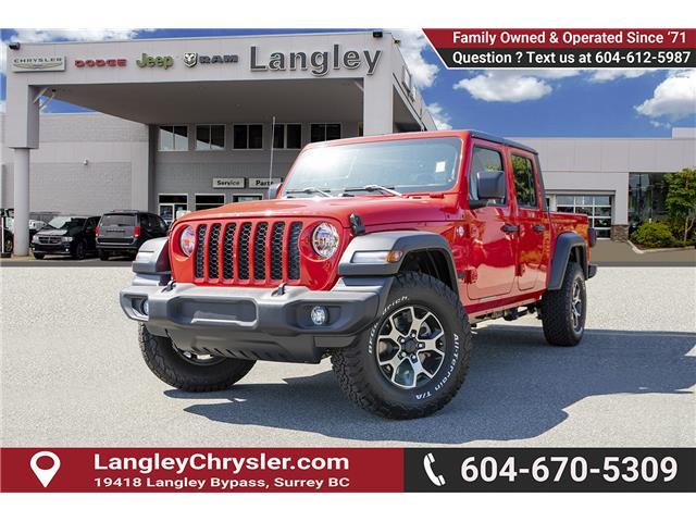 2020 Jeep Gladiator Sport S (Stk: L114208) in Surrey - Image 3 of 28