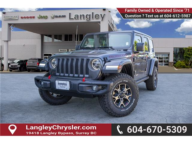 2019 Jeep Wrangler Unlimited Rubicon (Stk: K589520) in Surrey - Image 3 of 28
