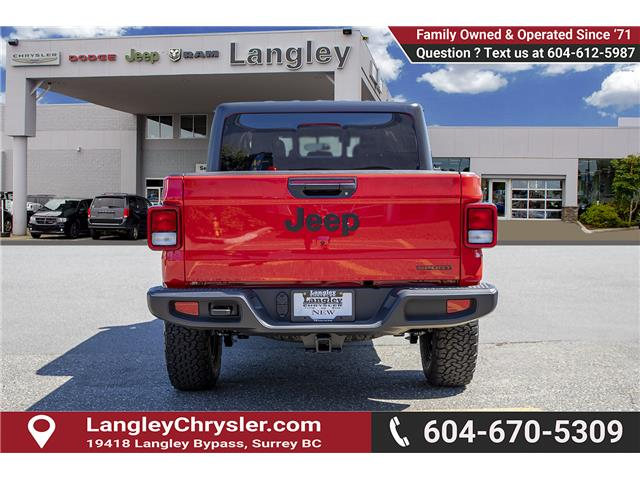 2020 Jeep Gladiator Sport S (Stk: L114208) in Surrey - Image 5 of 28