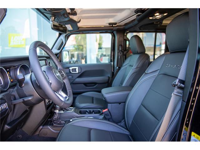 2019 Jeep Wrangler Unlimited Sahara (Stk: K602695) in Surrey - Image 23 of 54