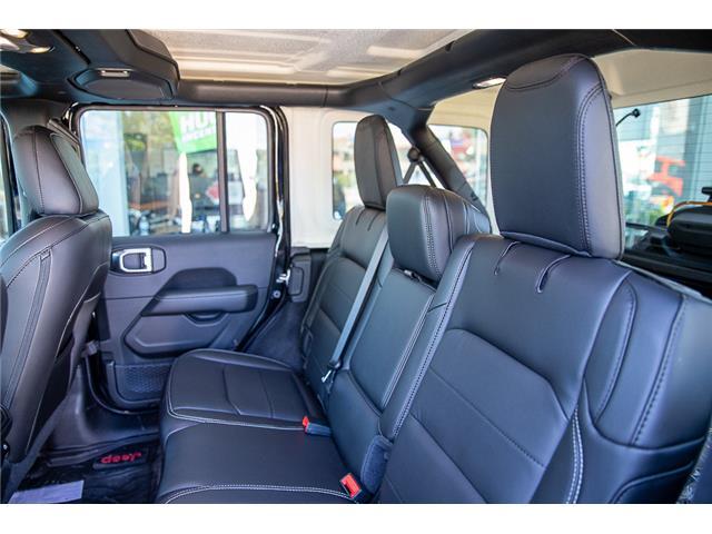 2019 Jeep Wrangler Unlimited Sahara (Stk: K602695) in Surrey - Image 27 of 54