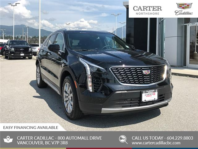 2020 Cadillac XT4 AWD Premium Luxury (Stk: D53440) in North Vancouver - Image 1 of 24