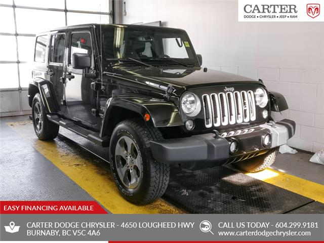 2017 Jeep Wrangler Unlimited Sahara (Stk: Y482521) in Burnaby - Image 1 of 21