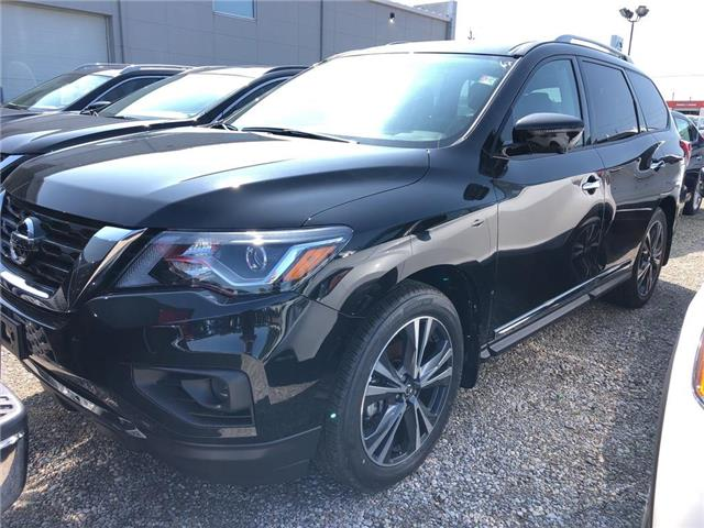 2019 Nissan Pathfinder Platinum (Stk: V0577) in Cambridge - Image 1 of 5
