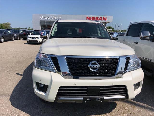 2019 Nissan Armada SL (Stk: V0586) in Cambridge - Image 2 of 5