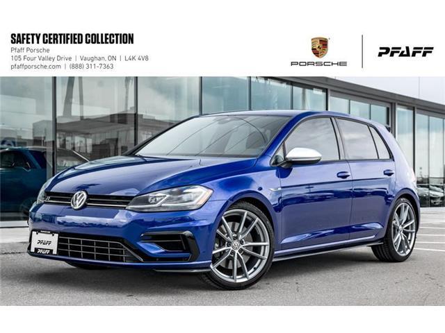 2018 Volkswagen Golf R 5-Dr 2.0T 4MOTION at DSG (Stk: U8052A) in Vaughan - Image 1 of 22