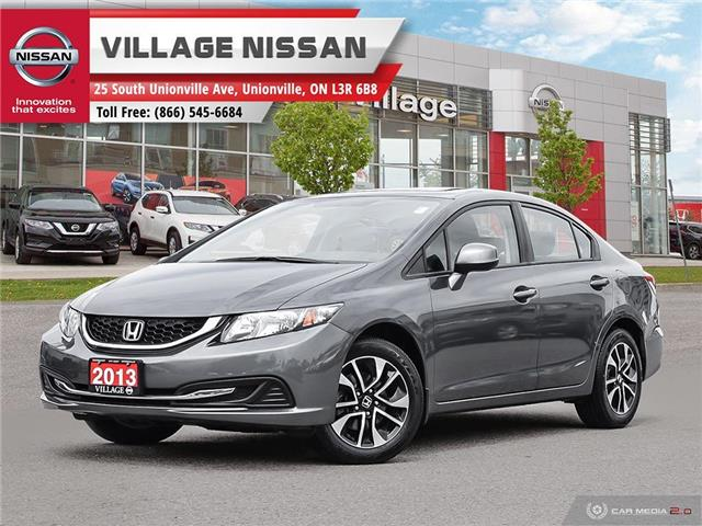 2013 Honda Civic EX (Stk: 90534A) in Unionville - Image 1 of 27