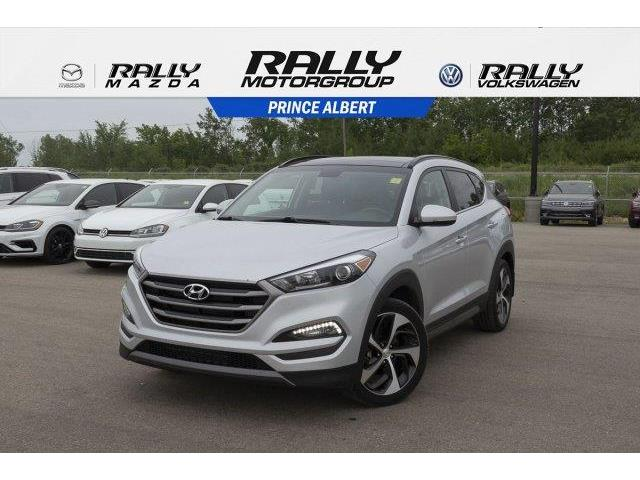2016 Hyundai Tucson Limited (Stk: V815B) in Prince Albert - Image 1 of 11