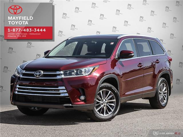 2019 Toyota Highlander XLE (Stk: 1961806A) in Edmonton - Image 1 of 20