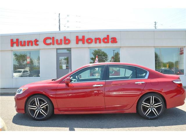2017 Honda Accord Sport (Stk: 7139A) in Gloucester - Image 1 of 25