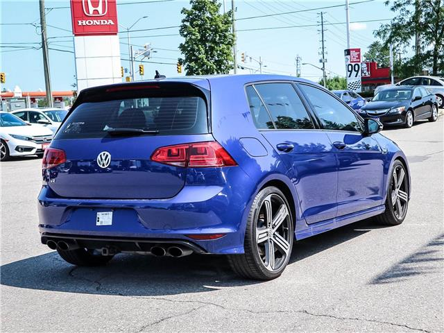 2016 Volkswagen Golf R 2.0 TSI (Stk: WBUR4) in Milton - Image 5 of 26