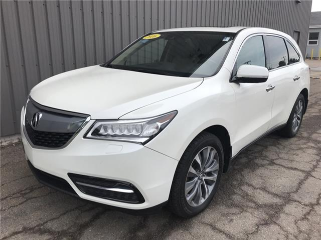 2016 Acura MDX Technology Package (Stk: U3485) in Charlottetown - Image 1 of 25