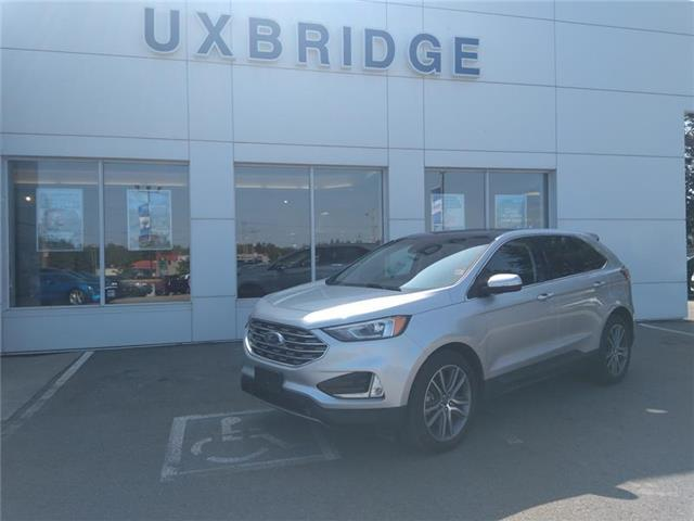 2019 Ford Edge Titanium (Stk: P1326) in Uxbridge - Image 1 of 10