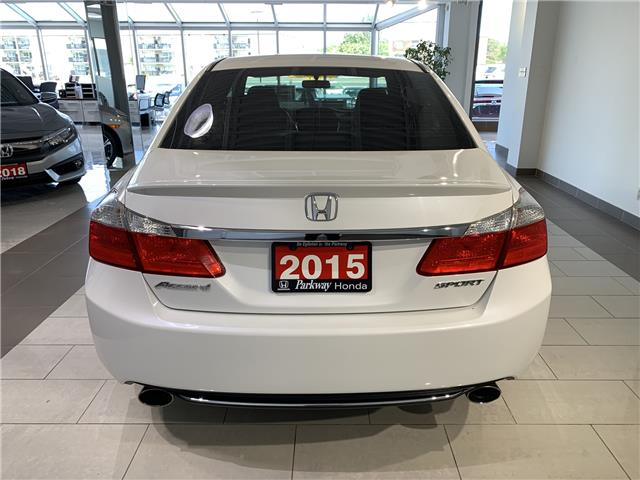 2015 Honda Accord Sport (Stk: 16283A) in North York - Image 7 of 23