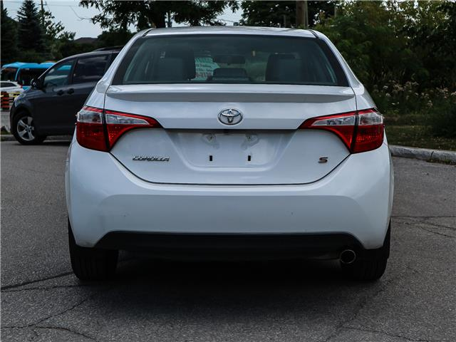 2015 Toyota Corolla S (Stk: 12278G) in Richmond Hill - Image 5 of 21