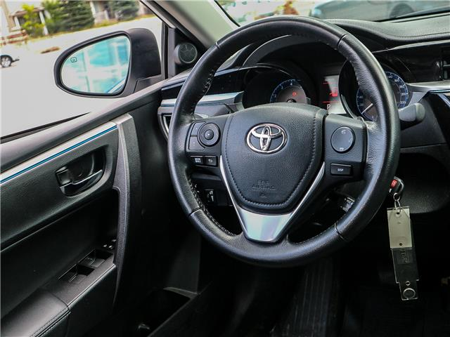 2015 Toyota Corolla S (Stk: 12278G) in Richmond Hill - Image 11 of 21