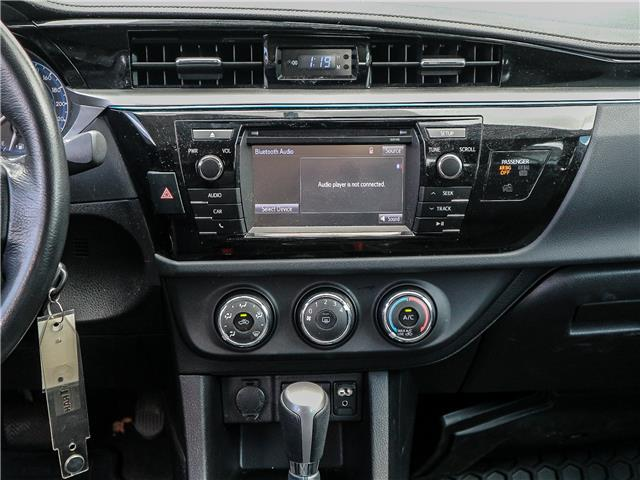 2015 Toyota Corolla S (Stk: 12278G) in Richmond Hill - Image 12 of 21