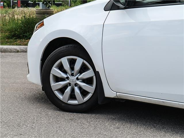 2015 Toyota Corolla S (Stk: 12278G) in Richmond Hill - Image 19 of 21