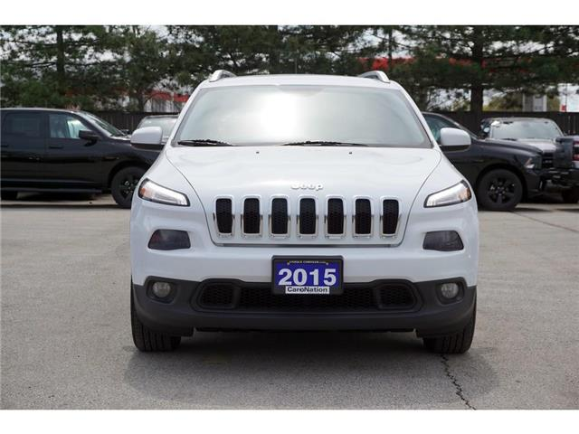 2015 Jeep Cherokee NORTH| REAR CAM| NAV-READY| REMOTE START & MORE (Stk: K333A) in Burlington - Image 2 of 47