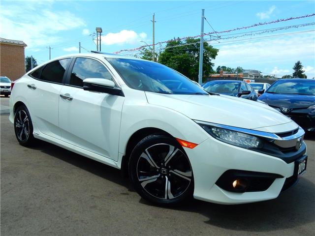 2016 Honda Civic Touring (Stk: 2HGFC1) in Kitchener - Image 1 of 28