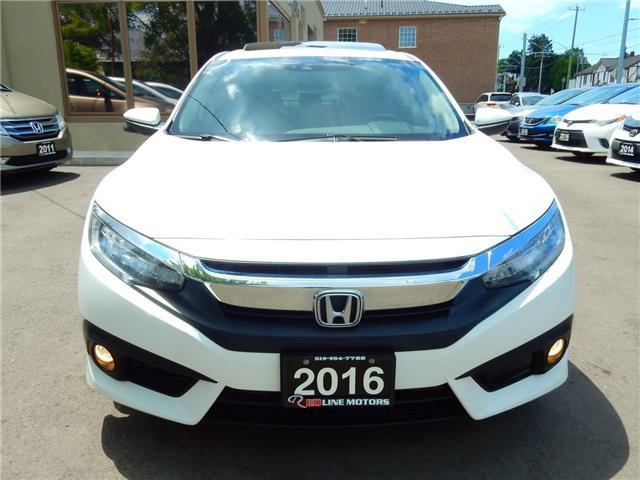 2016 Honda Civic Touring (Stk: 2HGFC1) in Kitchener - Image 2 of 28